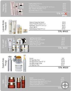 Skin care comparison!