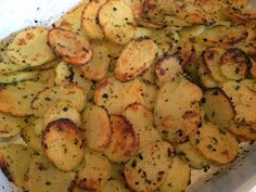 Lekker eten met Marlon: Aardappelschijfjes uit de oven met ranchkruiden