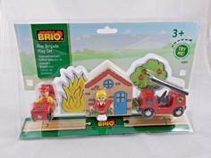 Brio Fire Brigade Play Set #33685 New #Brio