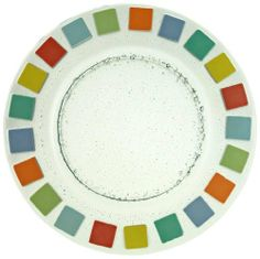 "Villeroy & Boch Twist Alea Vitrum 13"" buffet plate by Villeroy & Boch. $39.95. Dishwasher safe. Safe in the dishwasher for convenient cleanup. Buffet plate of 13-inch diameter. Made in brazil. Made of fused glass. Retro in look and feel, fused glass is dishwasher safe. Save 44%!"
