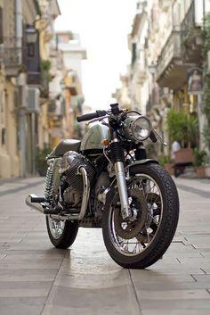 "Moto Guzzi ""Eroica"" by Officine Rossopuro"