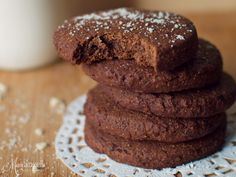 My soft cookies! Healthy School Snacks, Healthy Sweets, Sweets Recipes, Cooking Recipes, Desserts, Candy Crash, Healthy Biscuits, Chocolate Recipes, Cooking Time