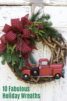 These 10 fabulous holiday wreaths are sure to get you in the festive winter spirit. With burlap ribbons, natural pine tree branches, and plaid fabric galore, these DIY christmas decorations make for a beautiful addition to your front door. Whether you're decorating your home for the holidays or attending parties with family and friends, no one has time for unexpected bladder leaks. Wear Depend® Silhouette® Briefs to prevent incontinence from slowing you down.