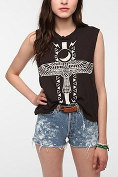 UO muscle graphic tank