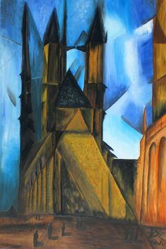 Lyonel Feininger (thanks to Leic Museum & Art Gallery, Lyonel Feininger was one of the first artists who triggered my interest.)