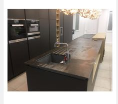 . Eclectic Kitchen, Countertops, Sink, Flooring, Cabinet, Home Decor, Sink Tops, Clothes Stand, Vanity Tops