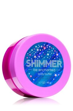 Bath & Body Works Be Enchanted Shimmer Body Butter; Has a gold glitter in it, not silver!