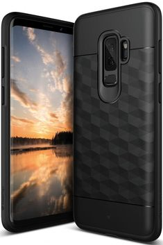 Samsung Galaxy S9 Plus Case Protective Textured Slim Dual Layer Geometric Design #Caseology