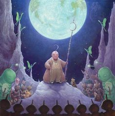 """The Man in the Moon"" (Guardians of Childhood) by William Joyce 2011."