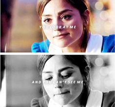 What the Doctor said to Clara when she first met him, remember?