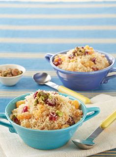Healthy breakfast recipes: Fruit-and-Nut Couscous