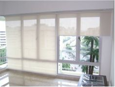 Decorate home with roller blinds