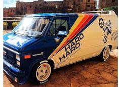 Haro Bikes, Haro Bmx, Vintage Bmx Bikes, Gmc Vans, Surf, Old School Vans, Vanz, Chevy Van, Custom Hot Wheels