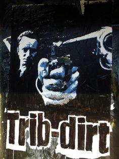 C'EST ARRIVE PRES DE CHEZ VOUS (1992) by artist TRIB DIRT in Rennes, France  #streetartcinema #streetart #stencil #spray #aerosol #urbanart #cinema #culture #education #BenoitPoelvoorde #TribDirt #Rennes