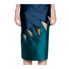 Bias Contrast Skirt. Available in store + online. dionlee.com