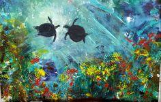 """""""Under the Sea II"""" by Rebecca Antonelli SOLD"""