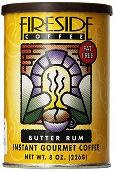 Check out this great item: Fireside Coffee Cafe Mocha Instant Flavored Coffee 8 Ounce Canister - Hot Butter Rum at Instant Coffee. Hot Butter, Instant Coffee, Coffee Cafe, Root Beer, Healthy Drinks, Mocha, Gourmet Recipes, Fudge, Rum