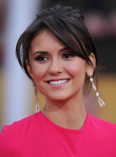 19th Annual Screen Actors Guild Awards..Shrine Auditorium, Los Angeles, CA..January 27, 2013..Job: 130127A1..(Photo by Axelle Woussen)..Pictured: Nina Dobrev. zimbio.com