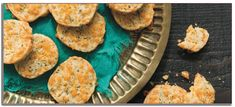 Culinary instructor Chitra Agrawal brings fresh Indian flavors to homes everywhere. Her green chile and cheddar shortbread biscuits are a hot treat! Bagel Toppings, Types Of Snacks, British Biscuits, Stromboli Recipe, Shortbread Biscuits, Wisconsin Cheese, Creamy Mashed Potatoes, Savoury Baking, Kitchens