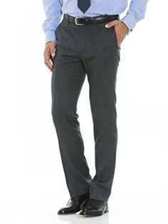 Grey Flannel Trousers – Least Used & Most Versatile Item Of Men's Clothing