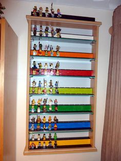My display case to house all of my current and forthcoming Lego Collectable Minifigures :)