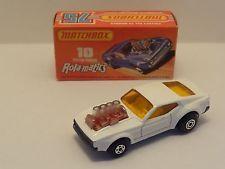 Matchbox Superfast MB10 Mustang PISTON POPPER - 'WHITE' - MEGA RARE!!! L@@K!!!