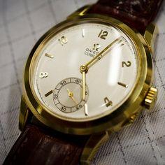omega tourbillon wristwatch