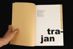 Desenho Tipográfico - Bodoni; Trajan; Futura