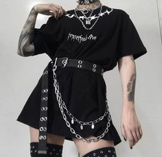Likes, 32 Comments - Grunge Egirl Fashion, Kpop Fashion Outfits, Indie Outfits, Edgy Outfits, Retro Outfits, Cute Casual Outfits, Girl Outfits, Grunge Outfits, Aesthetic Grunge Outfit