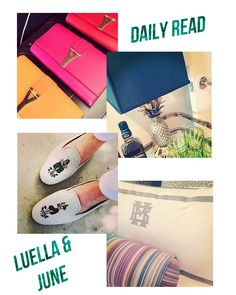Just Us Gals: Daily Read: Luella and June