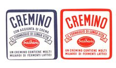 Cremino Cheese Label Vintage Galbani Cream by Florinandsixpence