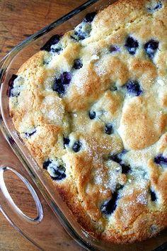 Buttermilk-Blueberry Breakfast Cake ~ Recipe of today