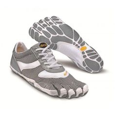 Vibram Fivefingers SPEED Womens W3303 Gray/White Running Shoes NEW #Vibram #RunningCrossTraining
