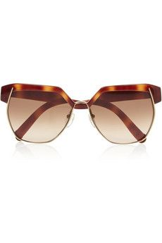 247986270c Chloé - Square-frame acetate sunglasses