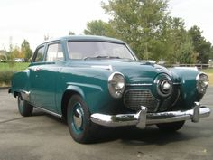 1951 Studebaker Commander - My Mom had one of these when I was a little kid.