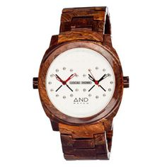 Zeno Dual Time Brown now featured on Fab.