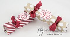 The Crafty Owl | Easiest Ever Crackers with the Stampin' Up! Envelope Punch Board - Video Tutorial