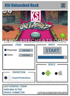 KSI Unleashed Cheats, Hack, & Tips for Powerups & Gems  #Arcade #Strategy http://appgamecheats.com/ksi-unleashed-cheats-hack-tips/