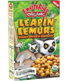 """Nature's Path EnviroKidz cereals are organic, have lower sugar content than traditional """"kid"""" cereals, and are sweetened with mineral- and calcium-rich molasses."""
