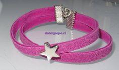 roze met ster