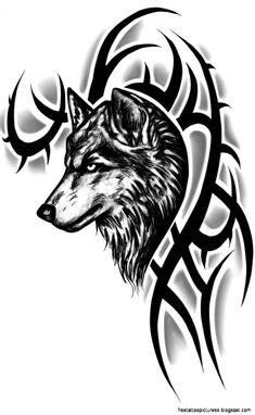 Lobo diseños de tatuajes Ideas buen tatuaje