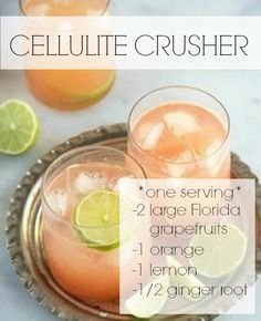 Helps to burn fat and improve look of cellulite - Love this juice!