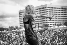Jenna McDougall from Tonight Alive