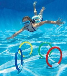 autumn-wind Swimming Pool Toy and Diving Game Diving Underwater Swimming//Diving Training Under Water Fun A