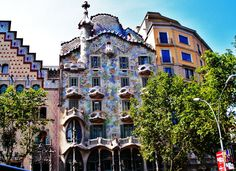 The Iconic Casa Batllo by Antoni Gaudi