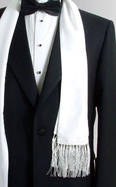Tuxedo with scarf