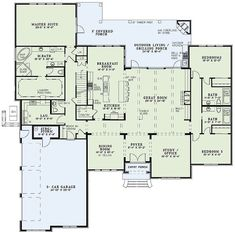 Room house living room ideas kitchen floor plans wc decor ideas best house plans out formal House Plans One Story, Ranch House Plans, Best House Plans, Craftsman House Plans, Dream House Plans, Story House, House Floor Plans, Bedroom Layouts, House Layouts