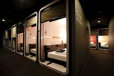 Business-Class Capsule Hotel In Tokyo – Fubiz Media
