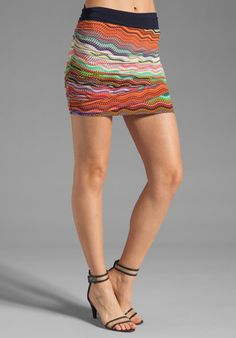 #Revolve Clothing         #Skirt                    #T-Bags #LosAngeles #Rouched #Mini #Skirt #Multi #from #REVOLVEclothing.com   T-Bags LosAngeles Rouched Mini Skirt in Zig Zag Multi from REVOLVEclothing.com                                                    http://www.seapai.com/product.aspx?PID=520894
