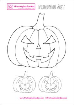 Imaginative and fun Halloween themed art activities for the busy teacher, just print and go! Printable coloring pages suitable for grades. Ideal for teachers looking for easy Halloween art projects in the classroom. Halloween Art Projects, Halloween Crafts For Toddlers, Halloween Doodle, Halloween Pumpkins, Toddler Crafts, Halloween Diy, Moldes Halloween, Halloween Templates, Pumpkin Drawing